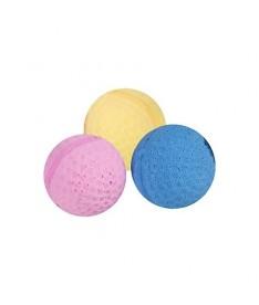 Juguete gato pelota esponja 4cm (x60)