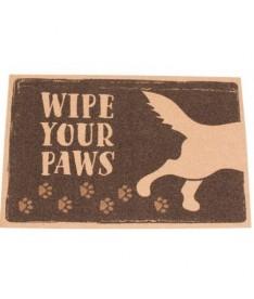 Felpudo outdoor wipe your paws 120x80cm
