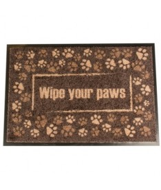 Felpudo indoor wipe your paws 60x40cm