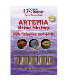 Congelado artemia con spirulina y ajo blister 100gr (x6)