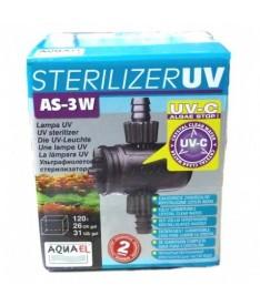 Aquael filtro ultraviolet as-3w 120l
