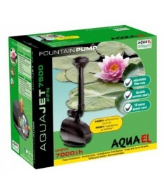 Aquael bomba estanque aquajet pfn-7500 7000l/h