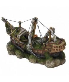 Barco 3mastedship m 29x11x18cm