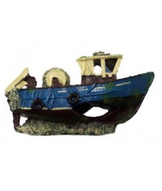 Barco pesca color 22x9x11cm by
