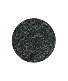 Grava color 10k 1-3mm negra fina flamingo