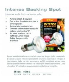 Exoterra bombilla intense 50w basking spot +75%