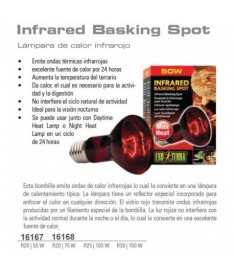 Exoterra bombilla infrared 50w basking spot